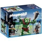 Playmobil 6004 Reuzentrol met dwergsoldaten