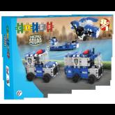 Clics Hero Squad Politie 8 in 1